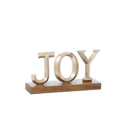 Joy Block Letter Decor