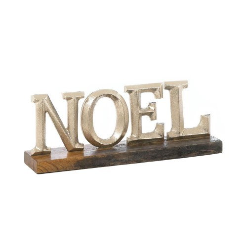 Noel Block Letter Decor