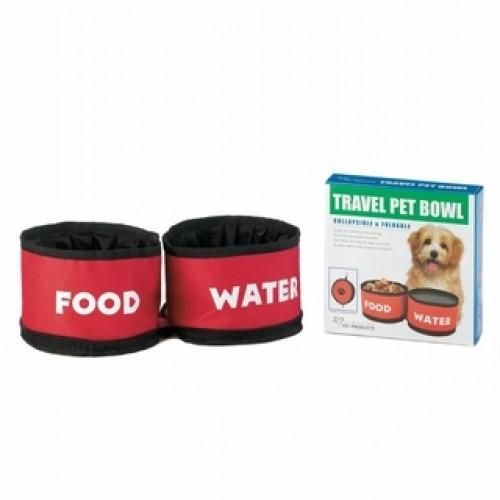 Travel Pet Bowl Set