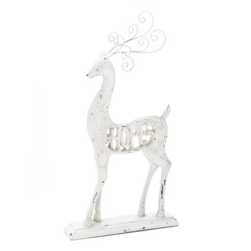White Hope Reindeer Figurine