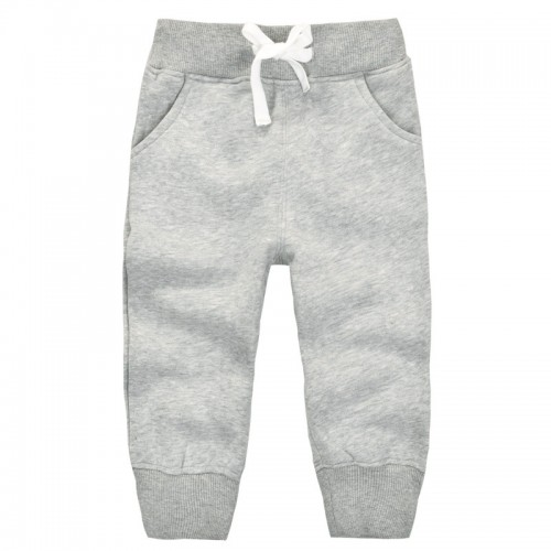 2595a91e9f94e 1-5Y baby pants children trousers fleece warm thick pants for girls