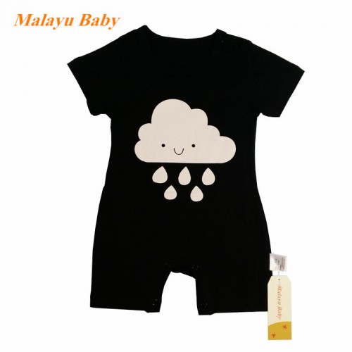 2016 Summer cartoon Baby Girl Clothes Kid Jumpsuit Baby Boy Body Suit Clothing Short Sleeve Romper 0-18 months baby