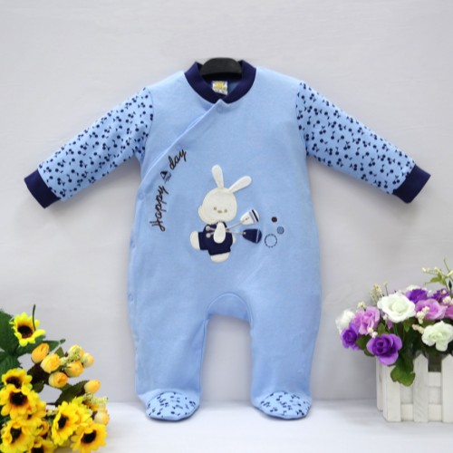 2017 Little Q pure cotton newborn spring autumn one piece romper baby boy infant underwear four color available