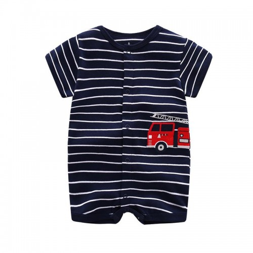 2017 Summer baby boys clothes cotton Jumpsuit Short sleeve Roupas Bebes Menino for Baby Boy Body suits , 0-24M baby rompers