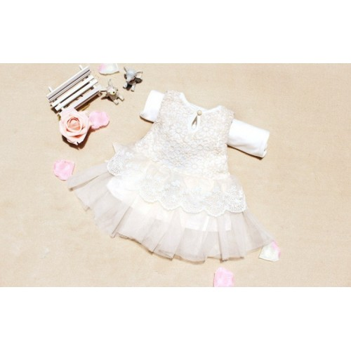 987ce4cf0 Sweet Baby Girls Bow Lace Ball Gown Casual Princess Dress