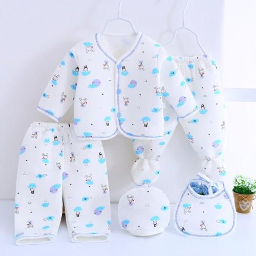 5Pcs/Set Jchao brand New Newborn Baby Outfit 0-3M