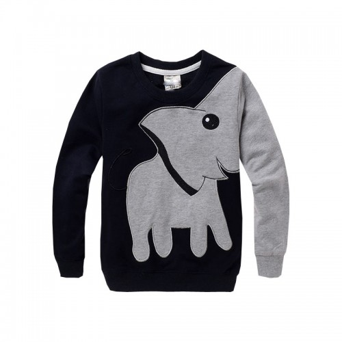Boys Clothing New Cartoon Pattern Child Baby Boys Clothes Shirt With Long Sleeves T-Shirt Cotton Children's Clothing