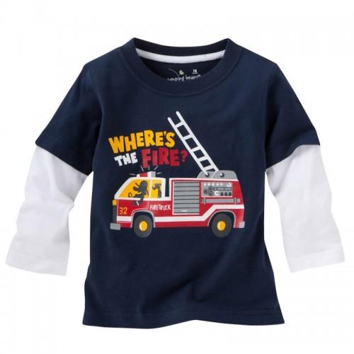 Fashion Children T-shirt Toddler Long Sleeve Tees Baby Boy Tops Clothing Shirts
