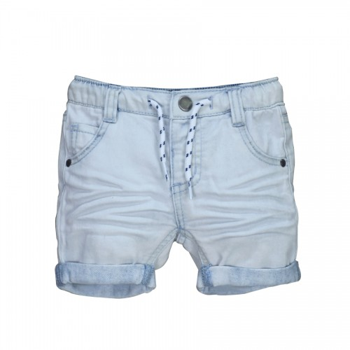 Infant Baby Boys&Girls Jeans Shorts Newborn Bebe Pants Kids Light Color Denim Shorts New Born Soft Cotton Elastic Waist Toddler