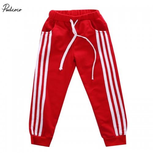 Retail 2017 New Casual Pants 4 Colors Kids Sports trousers School pants
