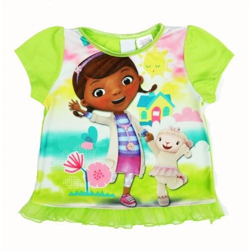 McStuffins Girl Kids T shirt Short-sleeved Printed Cartoon T-shirt