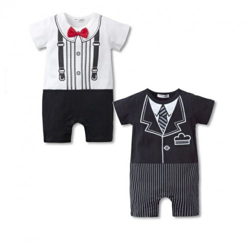 baby boy clothes Body suits Tuxedo Boys Rompers