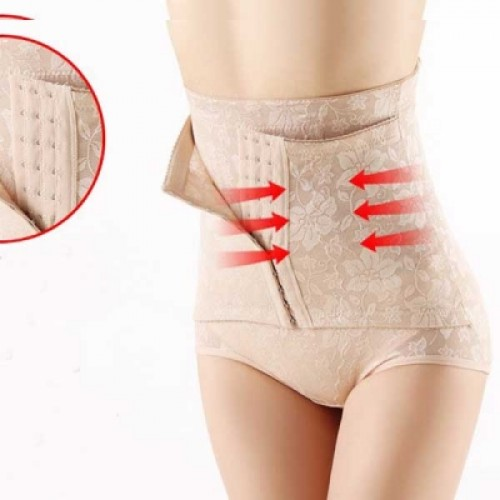 High-waist Buttocks Up Corset Body Shaper Underwear Pants for Women