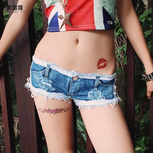 25beb8854b MEILEIYA Hot summer fashion women jeans European Super Short Denim Short  Pants Sexy Comfortable Night Club Party slim mini Jeans