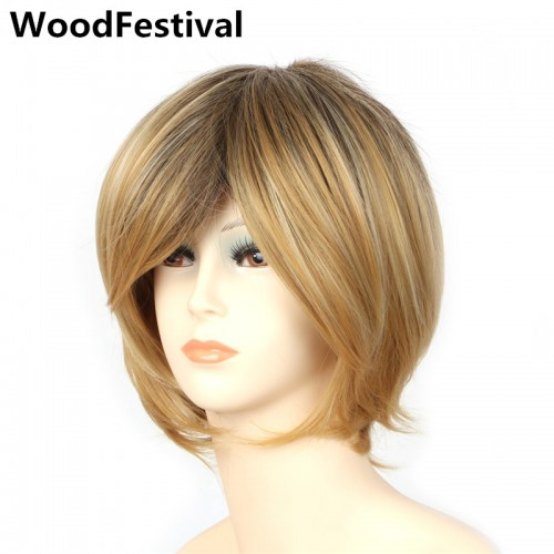 35 cm african american short straight hair wigs