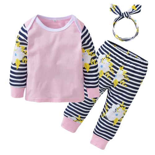 2017 Autumn Newborn Baby Girls Clothes