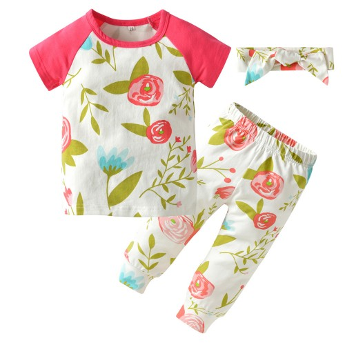 2017 Summer Baby Girls Clothes