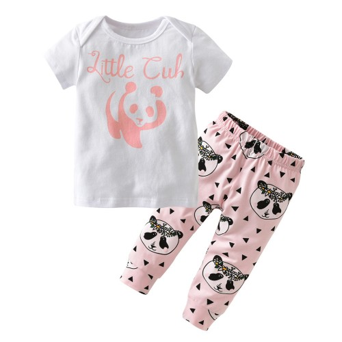 2017 Summer Newborn Baby Girl Clothes