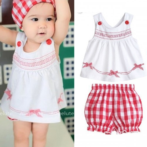 2017 Summer Sale Baby Girl Clothing Set