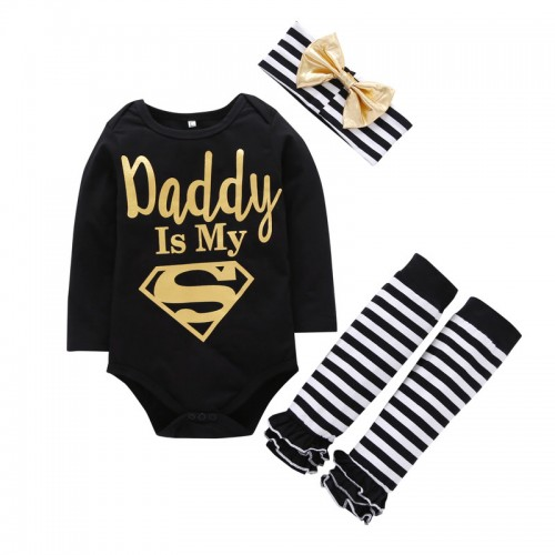 Autumn Newborn Baby Girl Clothes Cotton