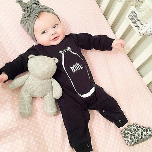 Autumn toddler suit newborn baby girls romper