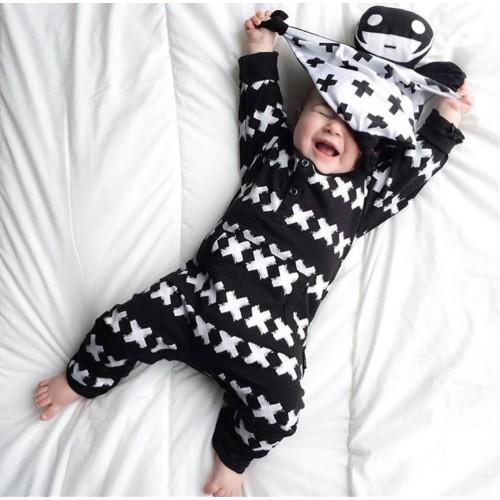 New autumn Fashion baby boy Romper cotton