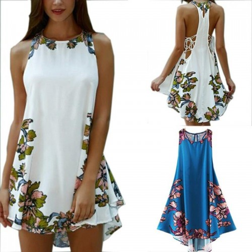 Sexy Party Dress Elegant Sleeveless Turtleneck Mini Dress