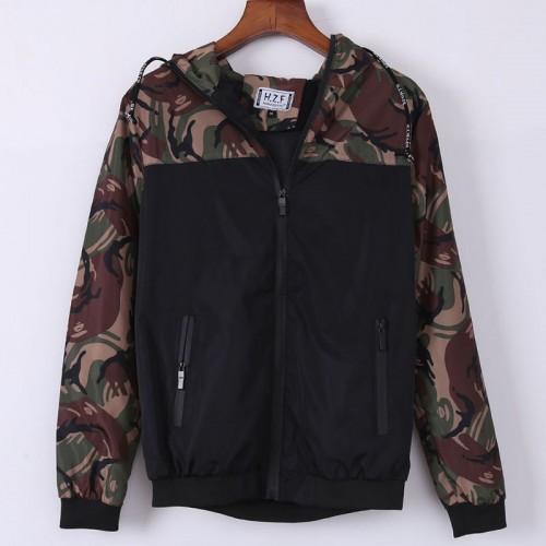 2017 Men's Camouflage Coat Hoodies Casual