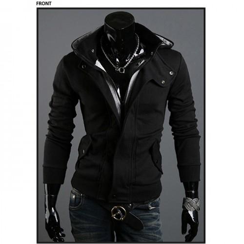 3XL Men Hoodies Sweatshirts Casual Male Zipper
