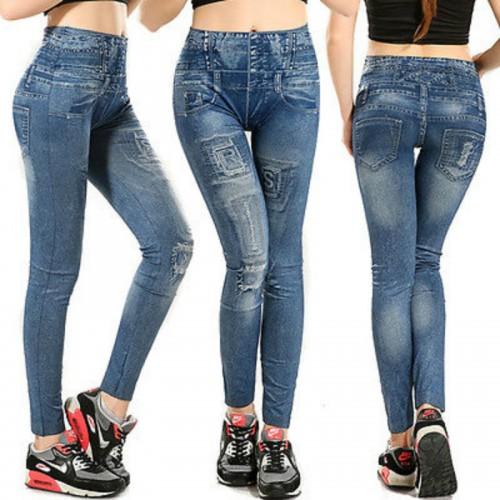 NEW Women Denim Pants Sexy Skinny Slim