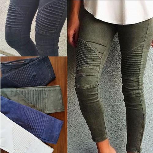 NEW Women Popular Cotton Slim Pants