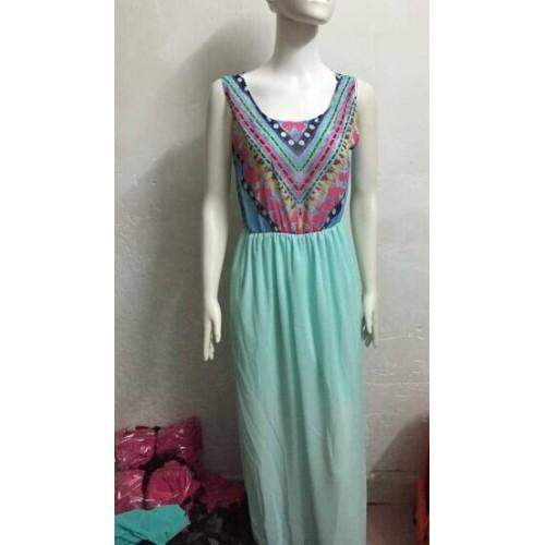Long Maxi Bohemian Dress