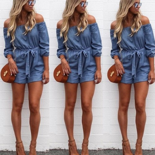 Clubwear Playsuit Bodycon Party Jumpsuit