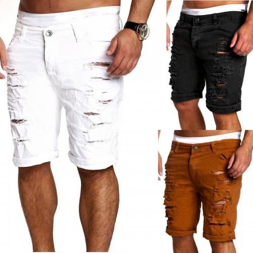 Men's Skinny Straight Zipper Denim