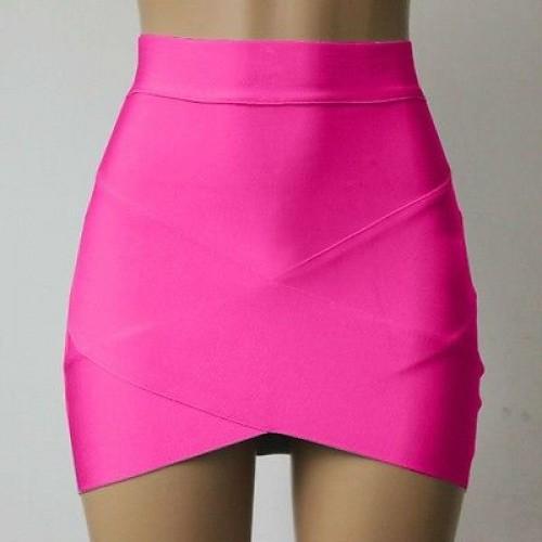 Lady Sexy Mini Skirt Slim Stretch Tight