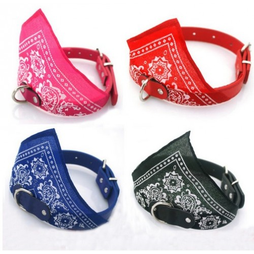 Bling Rhinestone Leather Dog Cat Collars with Bell