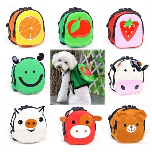 Cartoon Pattern Dog/ puppy Backpack Adjustable