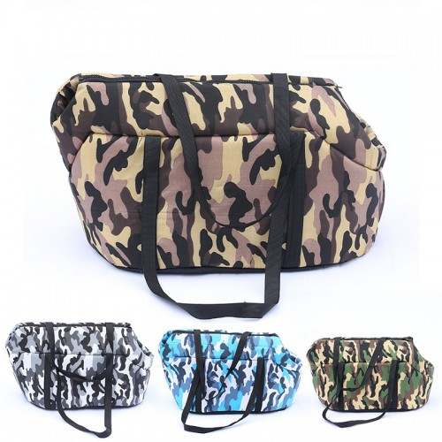 Camouflage Carrying Dog Handbag Breathable High Elastic