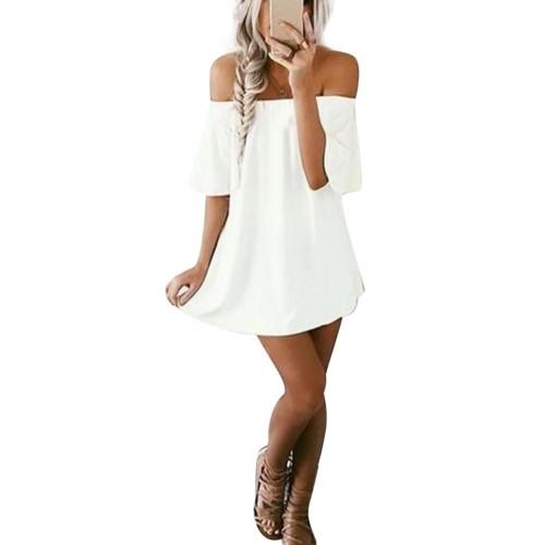 2017 Fashion women Elegant Vintage sweet white