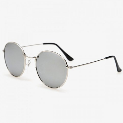 Stylish Full Frame Outdoor Silver Sunglasses For Men