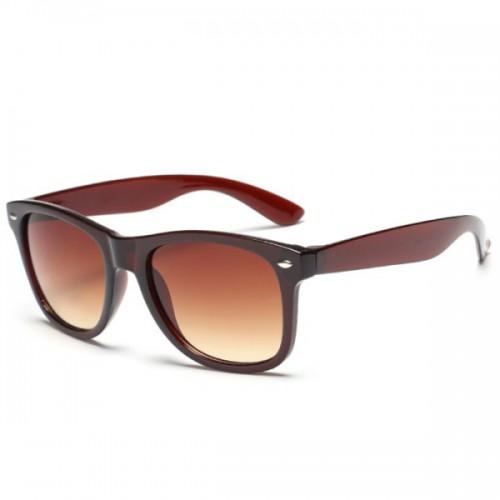 Trendy Anti UV Fashion Unisex Tea-Colored Trendsetter Sunglasses