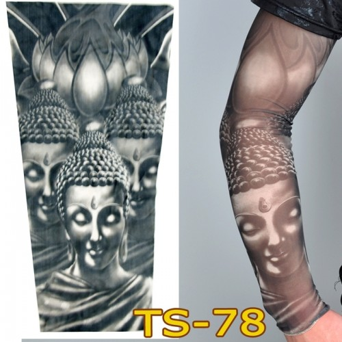 1 pc tattoo sleeves W-99 styles elastic F