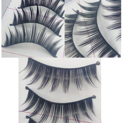 10 Pairs/1 Set False EyeLashes Thick Black False