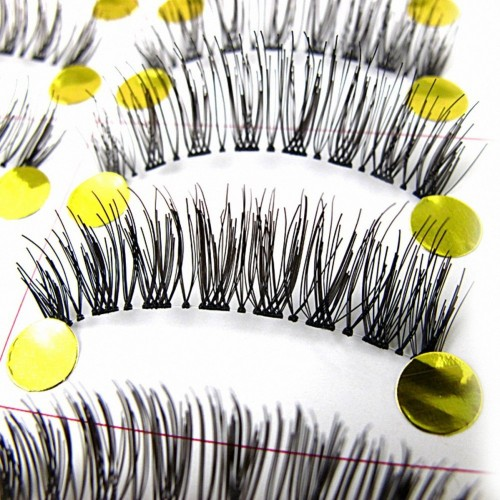 10 Pairs/1 Set Long Cross False Eyelashes