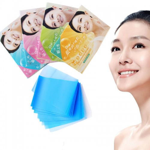 100x Facial Oil Control Sheets Nose Cosmetic Grease