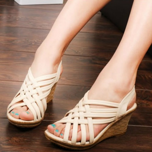 Summer New Women's Shoes Roman Style Simple