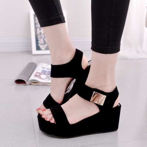 Summer Ankle Strap Slingbacks Strappy Toe Platform Woman