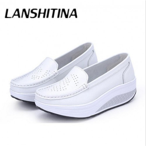 Ladies Casual Genuine Leather Flats Women