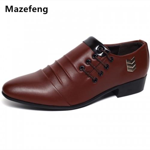 Mazefeng England Style Spring Men Wedding