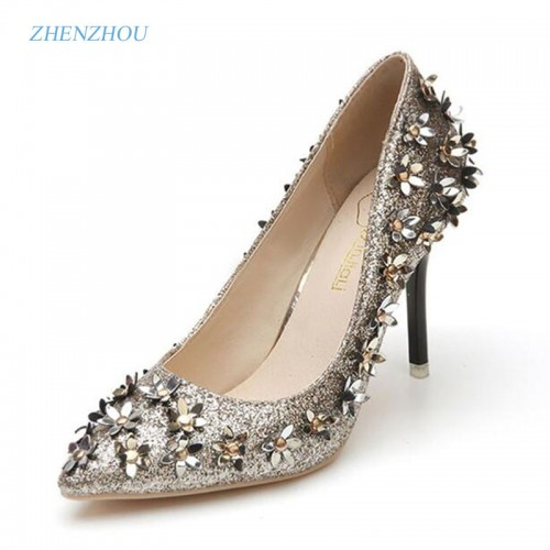 paragraph shallow mouth spring pointed high heels shoes